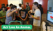 Act Like An Animal at IndieCade 2013
